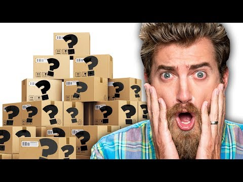 Unboxing 16 Mystery Boxes