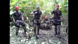 TNI MENGGILA SAAT ISTIRAHAT LATIHAN .flv