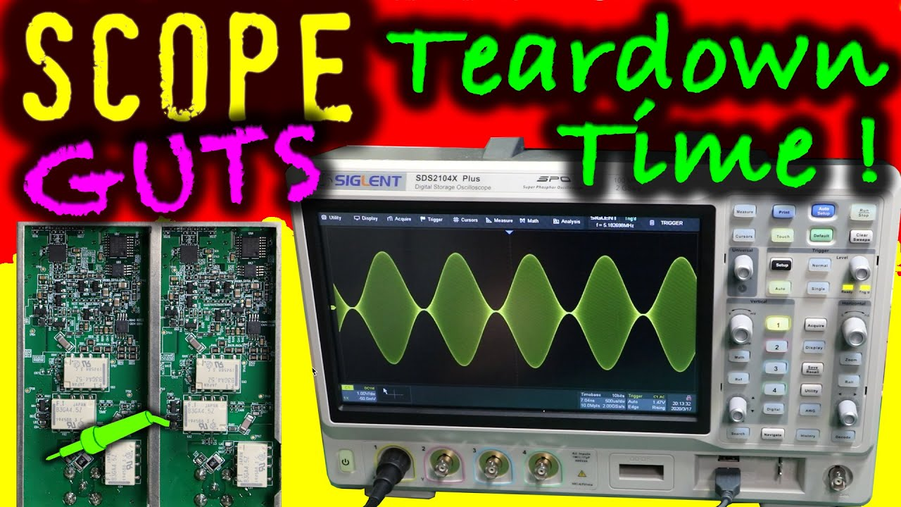 #699 NEW Siglent SDS2104X Plus Oscilloscope - Review and Teardown