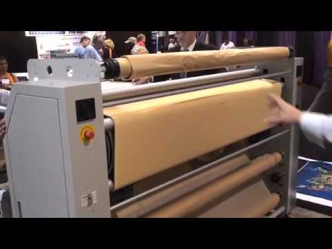 "DigiHeat 67"" Rotary Heat Transfer Press for Dye Sublimation by DigiFab Systems"