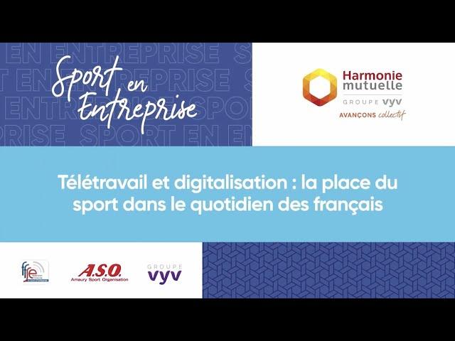 Stéphane Diagana et Harmonie Mutuelle | Débat autour du télétravail et de la digitalisation