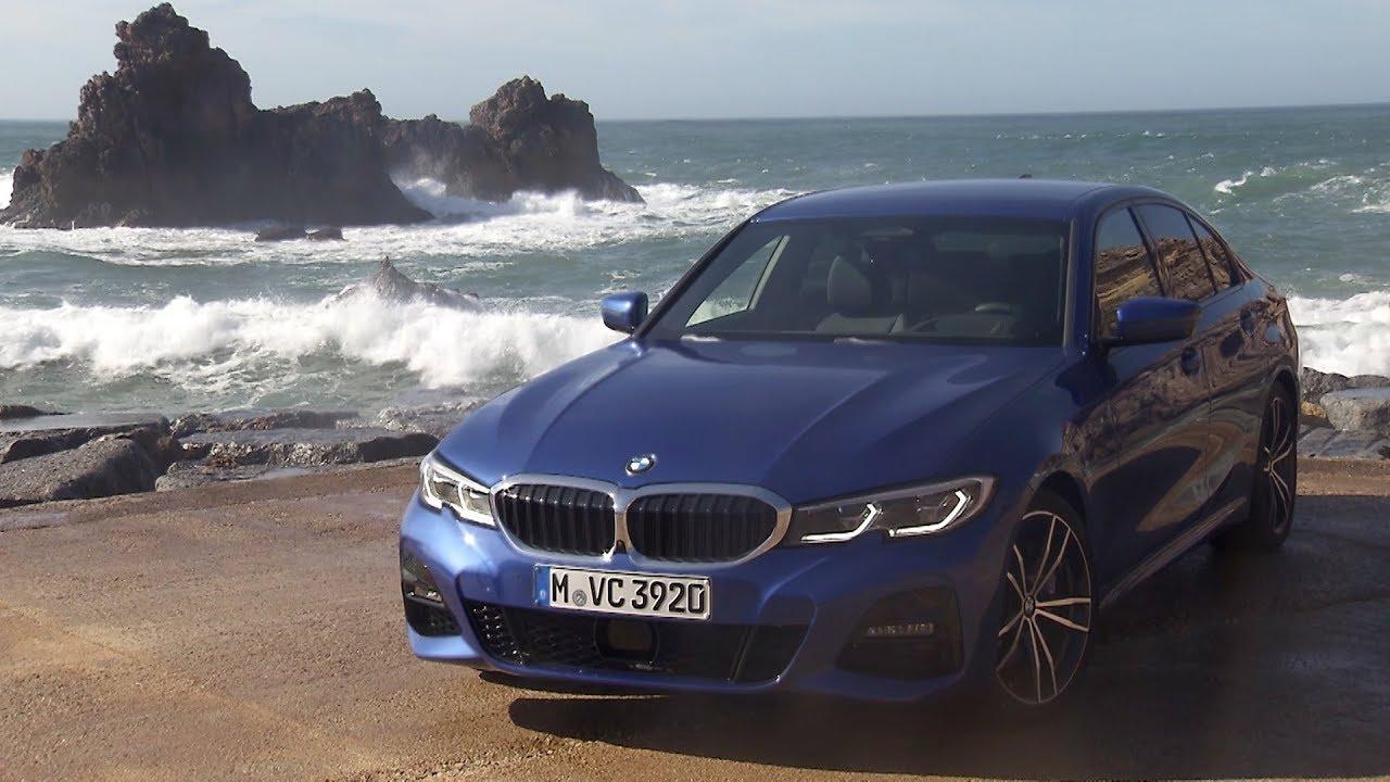 2019 Bmw 330i M Sport Portimao Blue Driving Interior Exterior