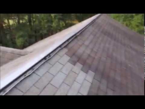 Aluminum ridge vent leak repair woodbridge va youtube - Roof air vent leaking water ...