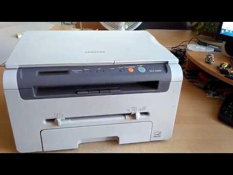 Samsung 4200/4220 не захватывает бумагу - РЕШЕНИЕ без замены ролика захвата бумаги