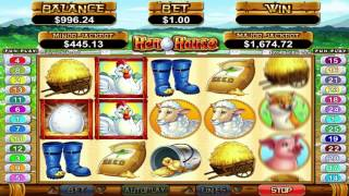 Hen House™ slot machine by RTG | Game preview by Slotozilla(Good luck while playing Hen House slot game powered by RTG. Click the following link to play:http://www.slotozilla.com/free-slots/hen-house., 2015-09-01T11:20:25.000Z)