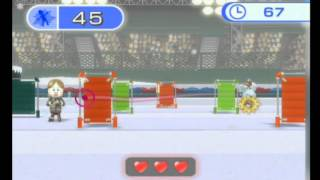 Wii Fit Plus: Snowball Fight (Advanced) 118 hits 【雪合戦(上級)118点】