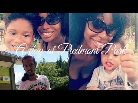 Piedmont Park Fun| Interracial family vlog| biracial family