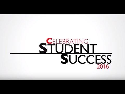 Celebrating Student Success 2016