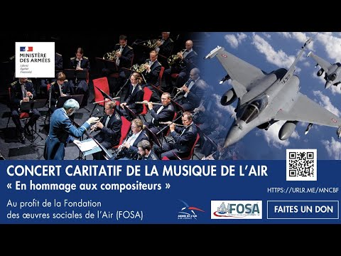 Concert caritatif de la Musique de l'Air
