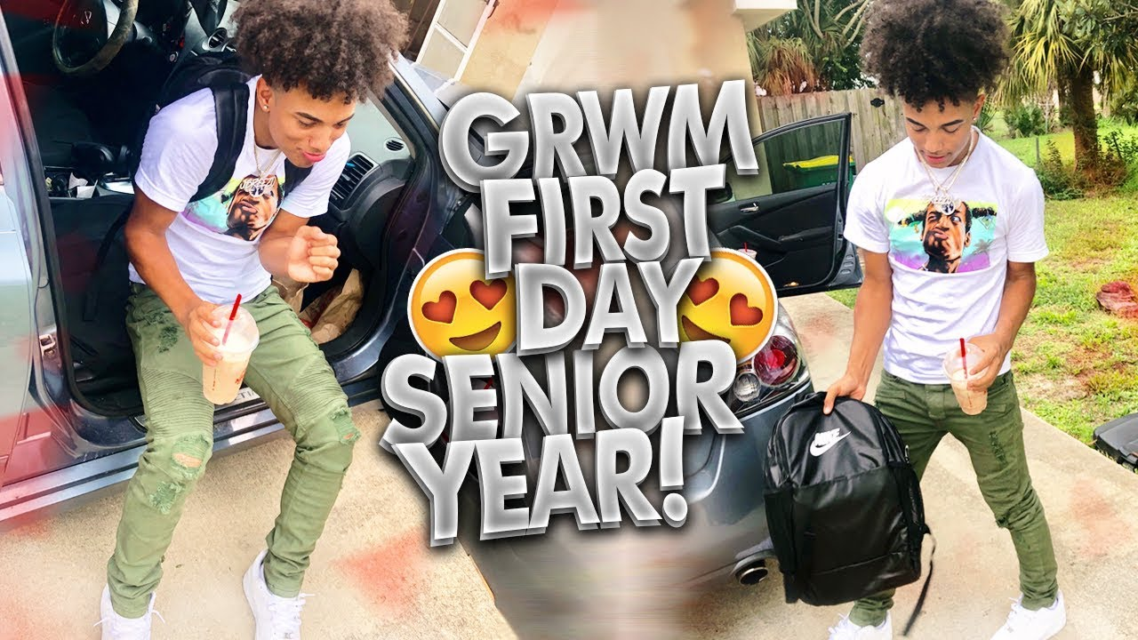 Grwm First Day Of Senior Year Fashionnovamen Youtube To me, watching from the sidelines as my upperclassmen friends graduated every year and left me to continue waiting. youtube