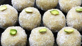 बिना घी बिना मावा सिर्फ 2 चीज़ो से-ऐसी नयी मिठाई जिसे देख रसमलाई भी शर्मायी | Peanut Ladoo Recipe