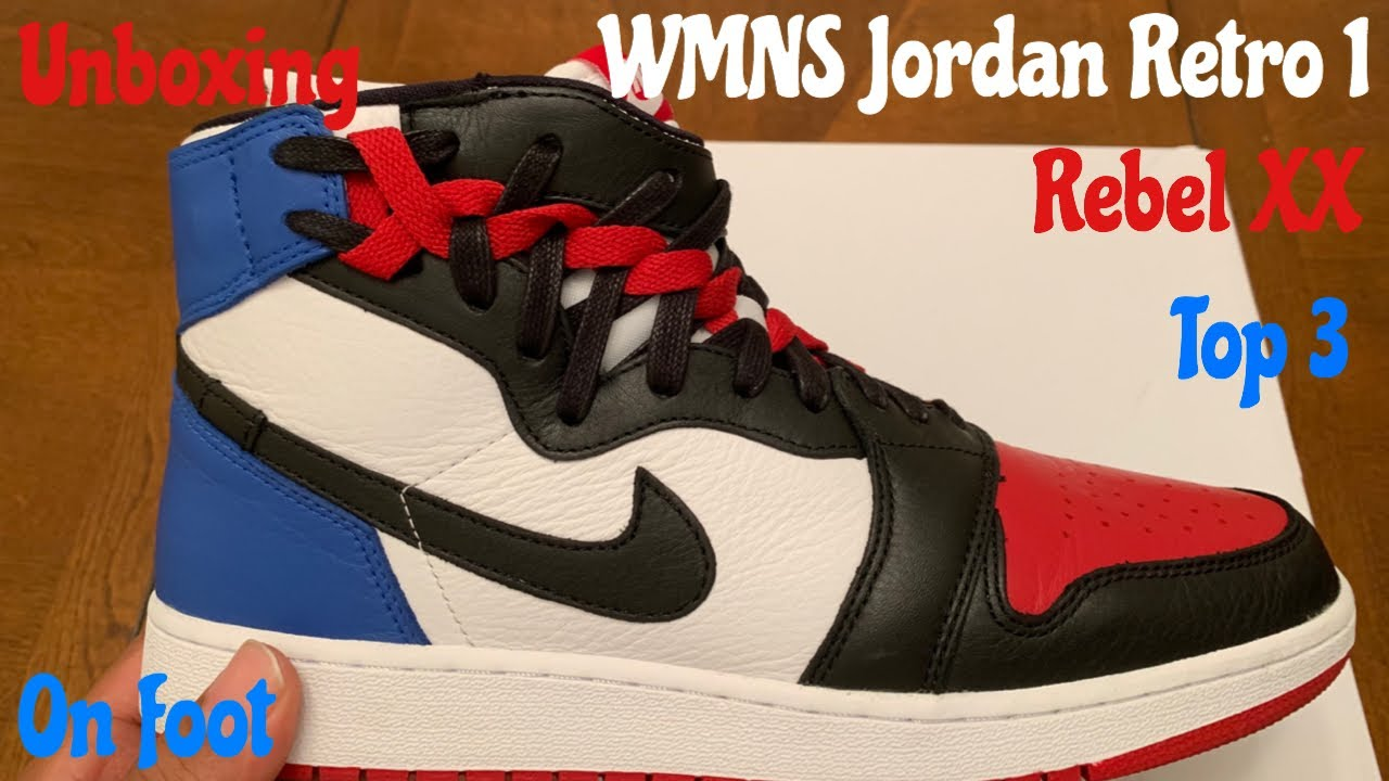 b69012d35e4 WMNS Jordan Retro 1 Rebel XX Top 3. Unboxing, Detailed Review & On Foot  w/McFly KOF.
