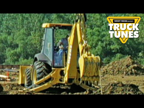 Truck DVD for Kids - Backhoe