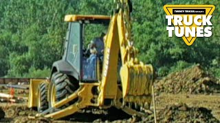 Backhoe for Children | Truck Tunes for Kids | Twenty Trucks Channel