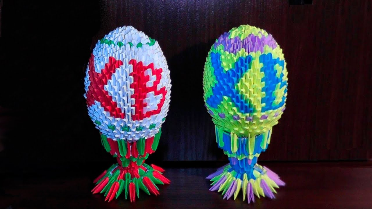 схема храма василия блаженного модульного оригами