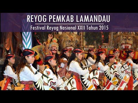 FRN XXII 2015 Rangking I REYOG PEMKAB kabupaten Lamandau Festival Reyog Nasional XXII