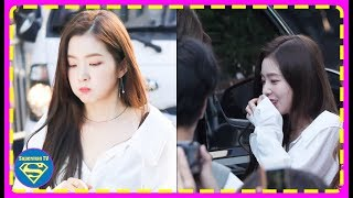 Red Velvet's Irene Woke up from Her Daze when She Realized Wendy was Missing at [Music Bank]