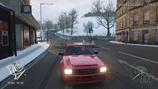 FH4 Audi Sport Quattro using FH3's Viper GTS sound file