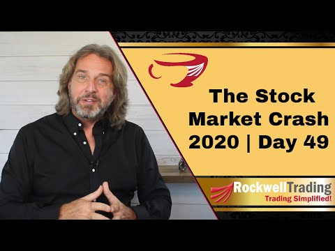 🔴 The Stock Market Crash 2020 – Day 49 | How I Manage Losing Trades