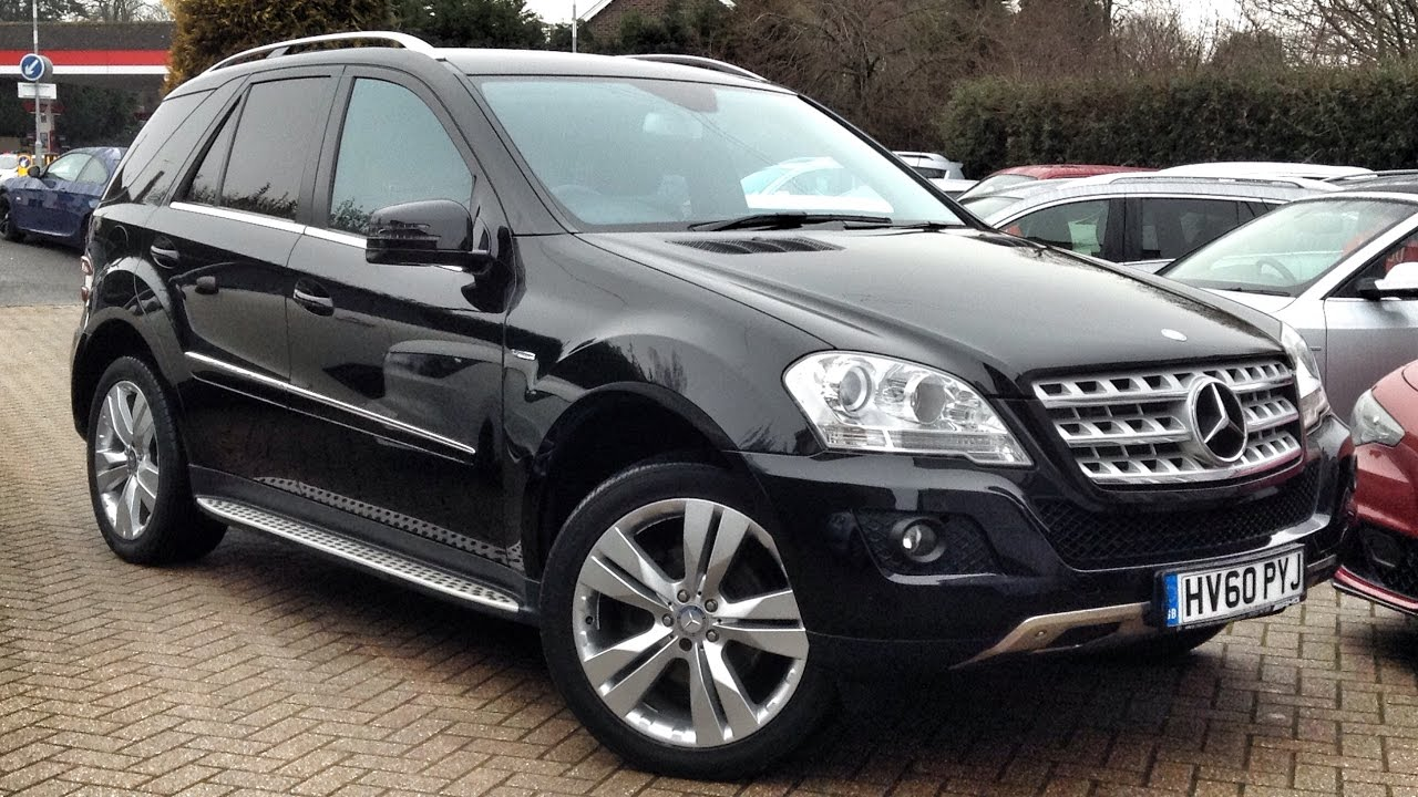 mercedes benz m class 3 0 ml350 cdi for sale at cmc cars near brighton sussex youtube. Black Bedroom Furniture Sets. Home Design Ideas
