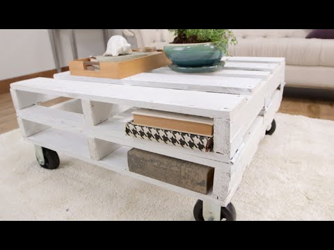 diy pallet coffee table you can make in just 1 afternoon