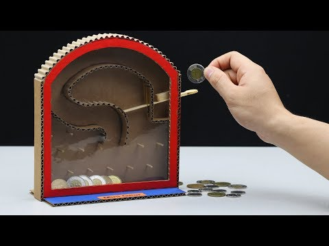 How to Make Personal Saving Coin Bank for Kids