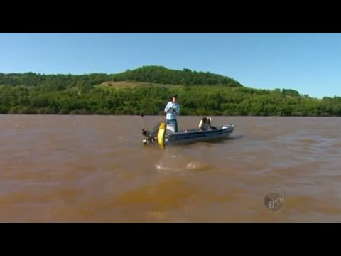 TERRA DA GENTE YACUMÃ, PESCA DOURADO RIO URUGUAI