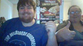 """The Microbear Gourmet Episode 74 """"hot Pockets Chicken Pot Pie"""""""