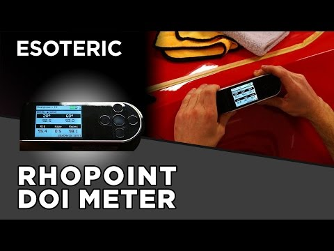 Rhopoint DOI Meter Review - ESOTERIC Car Care
