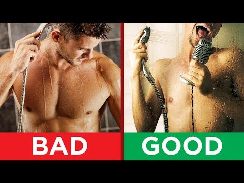 How To Shower CORRECTLY? 10 Showering Mistakes MOST Men Make