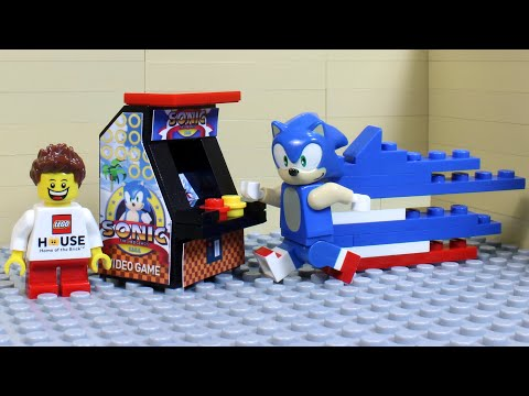 LEGO SONIC THE HEDGEHOG ARCADE VIDEOGAME