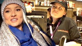 EMBARRASSING MY SISTER AT WORK | vlogmas day 9