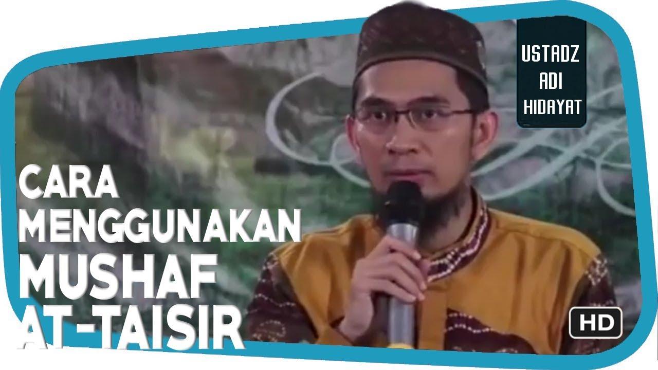 Quran At Taisir Ustadz Adi Hidayat 18