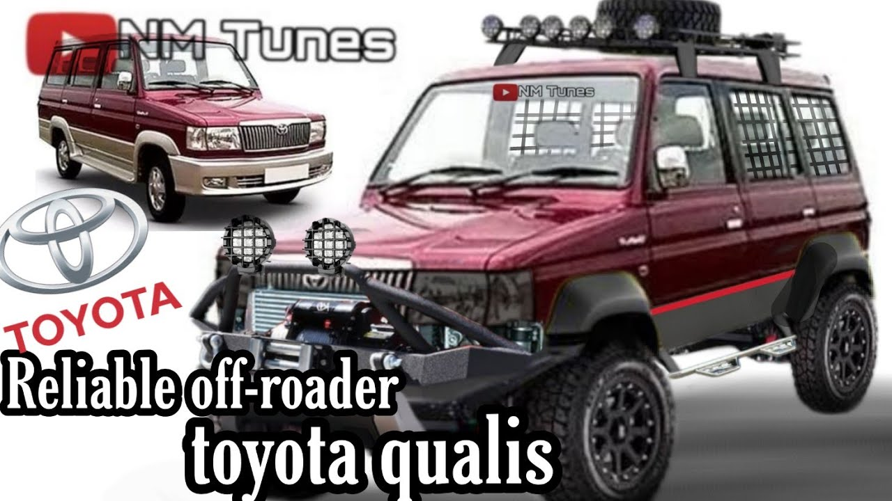 Toyota Qualis Kijang Offroad Modified Render Youtube