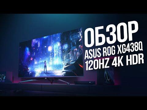 НАСТОЯЩИЙ Обзор ASUS ROG Strix XG438Q Большущий МОНИТОР???