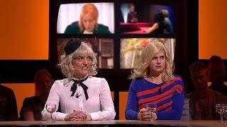 Tine Embrechts en Nathalie Meskens gaan op de vuist voor Guga   Tegen de Sterren op   VTM