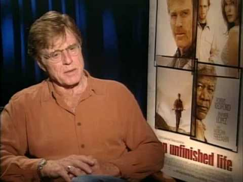 nice  of Robert Redford  for An Unfinished Life