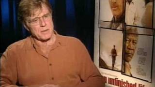 nice interview of Robert Redford  for An Unfinished Life