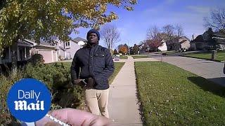 Police body cam shows black campaigner, Keilon Hill, arrested
