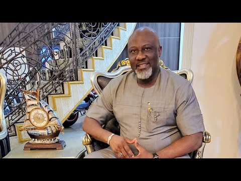 DINO MELAYE SHOWS OFF HIS LUXURY ITEMS AS DELE MOMODU TAKES A TOUR OF HIS  MAGNIFICENT HOME IN ABUJA