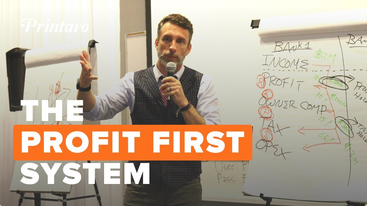 Profit First With Author Mike Michalowicz (Full Presentation) | PrintHustlers Conf 2019