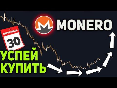 Успей Купить Monero до 30 Ноября! Огромный Рост XMR Неизбежен Биткоин Прогноз