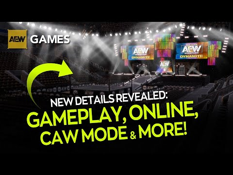 AEW Games: New Confirmations, Gameplay, Release Date News & More! (AEW Games 2.Show)
