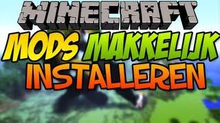Minecraft mods MAKKELIJK installeren