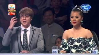 Cambodian Idol | Live Show |Week 3 | អ៊ាម វន្នី |ផ្ការីកក្នុងចិត្ត