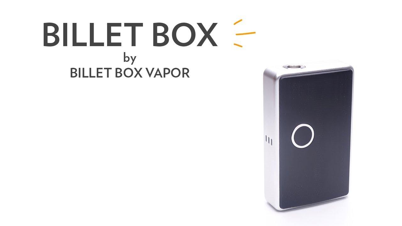 Billet Box by Billet Box Vapor at Phileas Cloud, Worldwide shipping