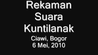 Suara Kuntilanak Terekam Di Ciawi, Bogor (Recording Of Ghost Laughing)