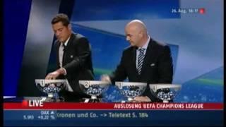 1. Auslosung - UEFA Champions League 10/11 in Monaco
