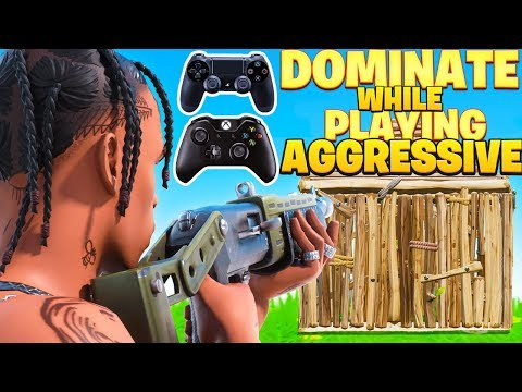 How To Play Aggressive & DOMINATE On Console! (Fortnite PS4 + Xbox Tips)