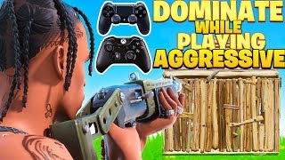 How To Play Aggręssive & DOMINATE On Console! (Fortnite PS4 + Xbox Tips)
